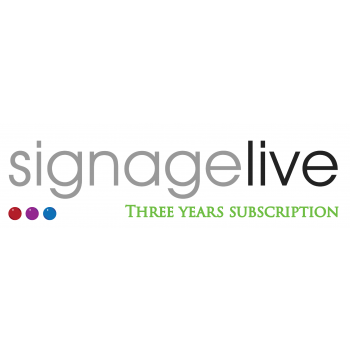 Signagelive - Three Year...